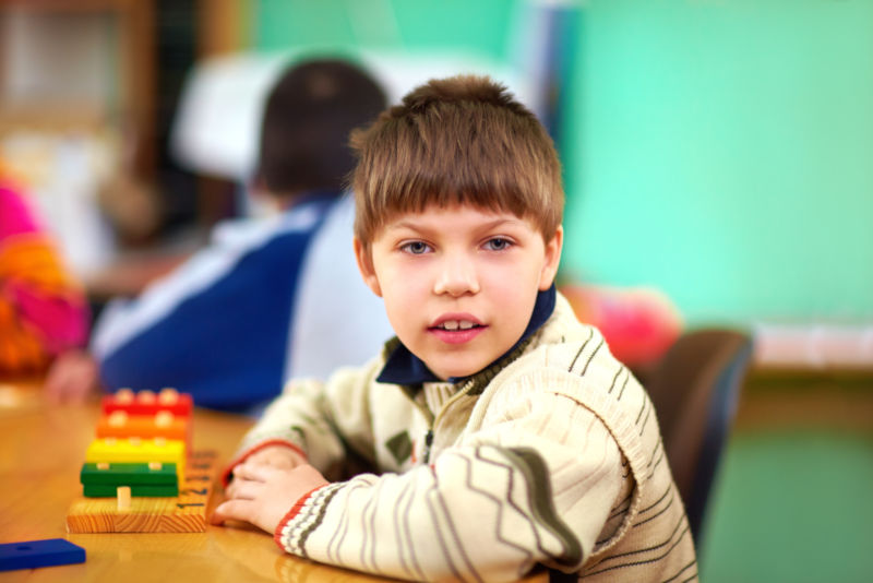 strategies for teaching students with learning disabilities helps this boy