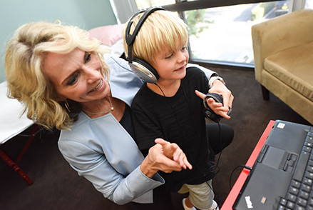 Child benefits from multi sensory learning